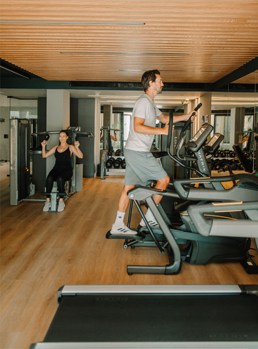 sentido fitness room - unique blue resort heraklion crete